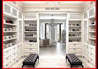В гардеробной комнате должно быть достаточно места